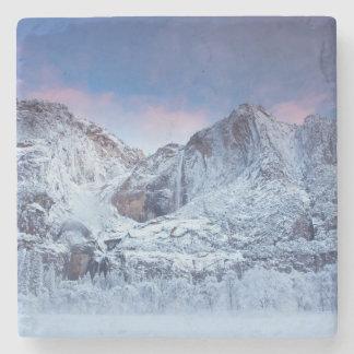 Yosemite Falls Sunrise Stone Coaster