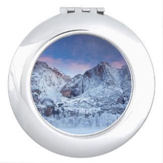 Yosemite Falls Sunrise Vanity Mirror