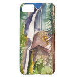 Yosemite Falls Watercolor iPhone Case iPhone 5C Case