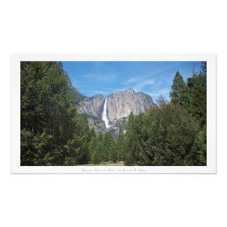 """""""Yosemite Falls with Forest,"""" Yosemite Nature Photo Art"""