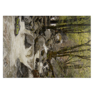 Yosemite Flowing Stream Cutting Board