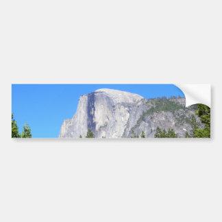 Yosemite Half Dome Bumper Sticker