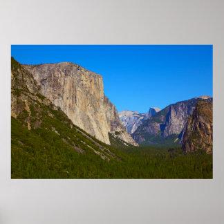 Yosemite Half Dome Panorama Print