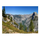 Yosemite Half Dome Postcard