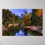 Yosemite Half Dome Poster