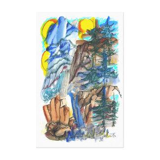 Yosemite Impressions Canvas Print