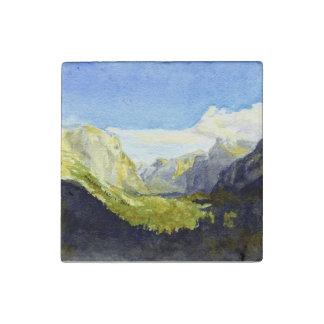 Yosemite, Inspiration Point Stone Magnet