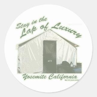 Yosemite Luxury Round Sticker
