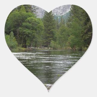 Yosemite Merced River Stickers