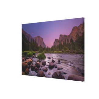 Yosemite National Park at Dusk Canvas Print