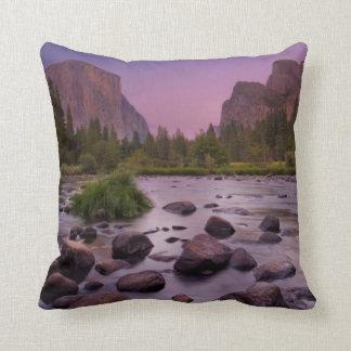 Yosemite National Park at Dusk Cushion