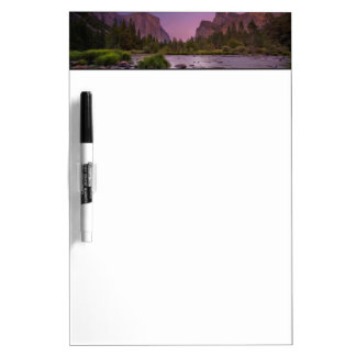 Yosemite National Park at Dusk Dry Erase Board