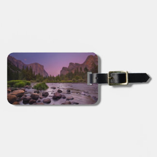Yosemite National Park at Dusk Luggage Tag