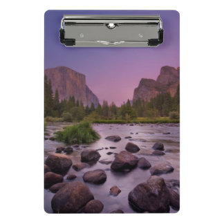 Yosemite National Park at Dusk Mini Clipboard