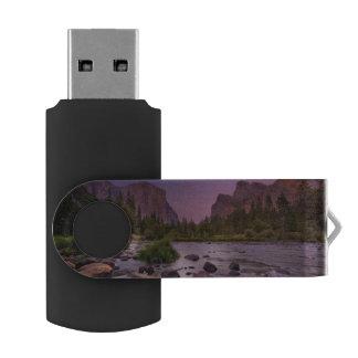 Yosemite National Park at Dusk USB Flash Drive