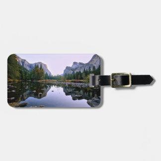 Yosemite National Park Bag Tag