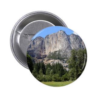 Yosemite national park, California 6 Cm Round Badge