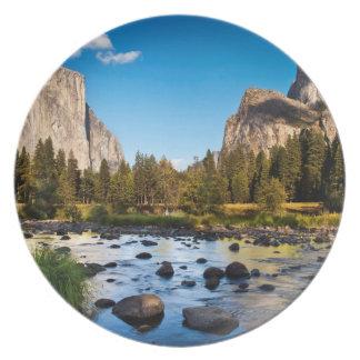 Yosemite National Park, California Plate