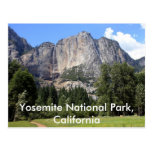 Yosemite national park, California Post Cards