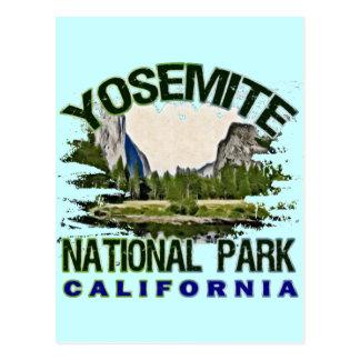 Yosemite National Park, California Postcard