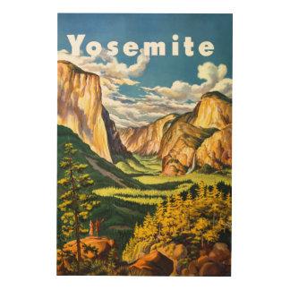 Yosemite National Park California Travel Art