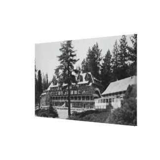 Yosemite National Park Glacier Point Lodge Canvas Print
