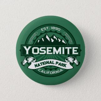Yosemite National Park Logo 6 Cm Round Badge