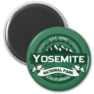 Yosemite National Park Logo Magnet