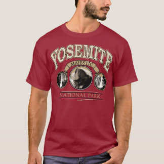 Yosemite National Park Majestic Falls Tee Shirt