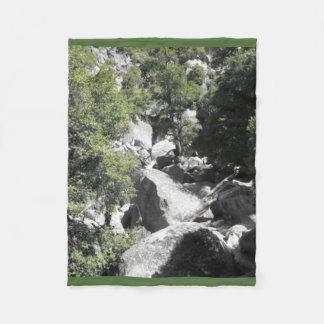 Yosemite National Park Nature Fleece Blanket