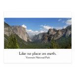 Yosemite National Park Postcards