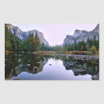 Yosemite National Park Rectangle Stickers