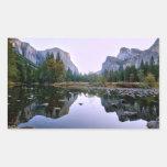 Yosemite National Park Rectangle Stickers