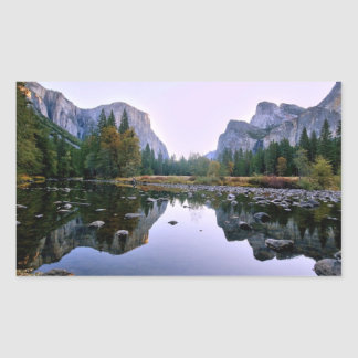 Yosemite National Park Rectangular Sticker