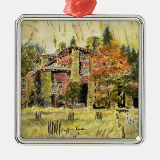 Yosemite National Park:  The Ahwahnee Hotel Christmas Ornament