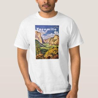 Yosemite National Park Vintage Poster Tshirt