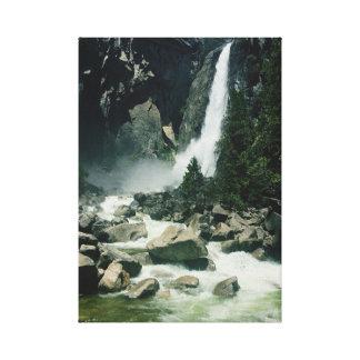Yosemite National Park Waterfall Canvas