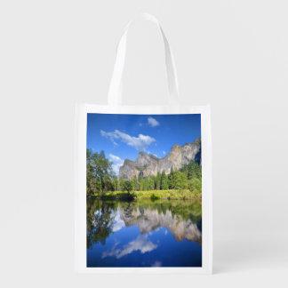 Yosemite Reflection Reusable Grocery Bag