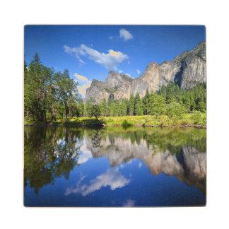 Yosemite Reflection Wood Coaster