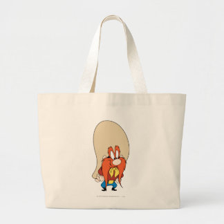 Yosemite Sam Hands on Hips Large Tote Bag