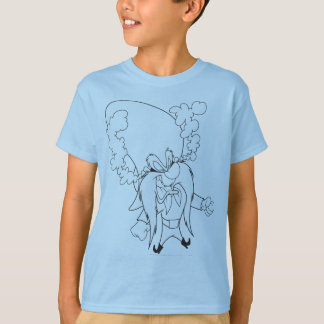 Yosemite Sam Steaming Mad T Shirts