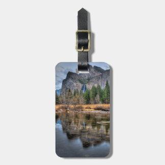 Yosemite Scenic Falls Bag Tag