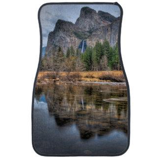 Yosemite Scenic Falls Car Mat