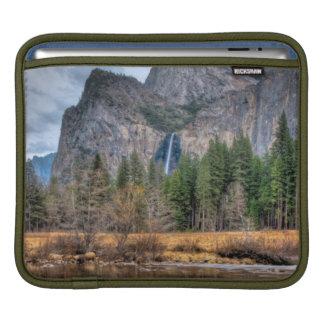 Yosemite Scenic Falls iPad Sleeve