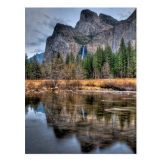 Yosemite Scenic Falls Postcards