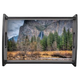 Yosemite Scenic Falls Serving Tray