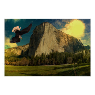 Yosemite-set-1-Sunburst Poster