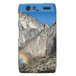 Yosemite Upper Falls Rainbow Droid RAZR Cases