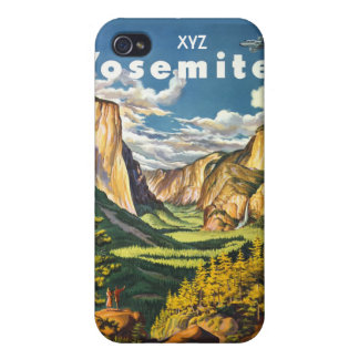 Yosemite USA Vintage Travel cases Case For iPhone 4