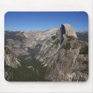 Yosemite Valley And Half Dome From Glacier Point Mouse Mat